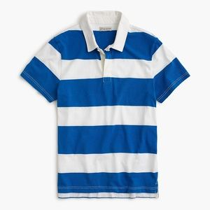 J. Crew Short-sleeve Rugby Polo Shirt